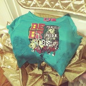 Girls Monster High Short T-Shirt